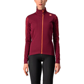 Castelli Transition Giacca Donna, rosso